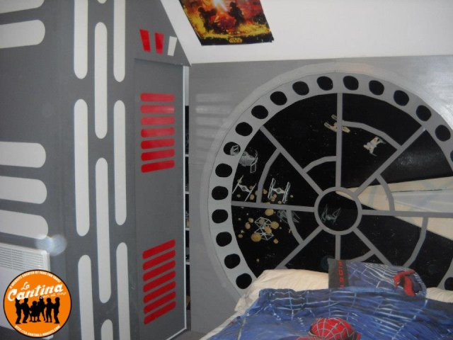 Chambre d 39 enfant star wars for Chambre star wars
