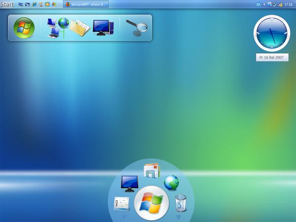 الوندوز اكسبي فيستا Windows Seven Transformation Pack