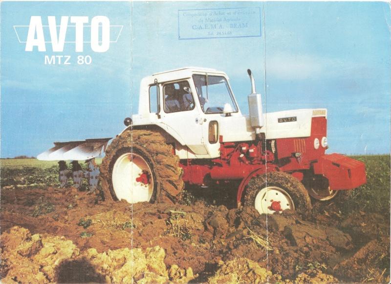Tracteur avto 4×4