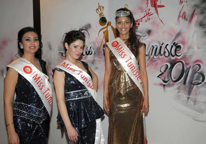 gagnantes du concours miss Tunsie 2013