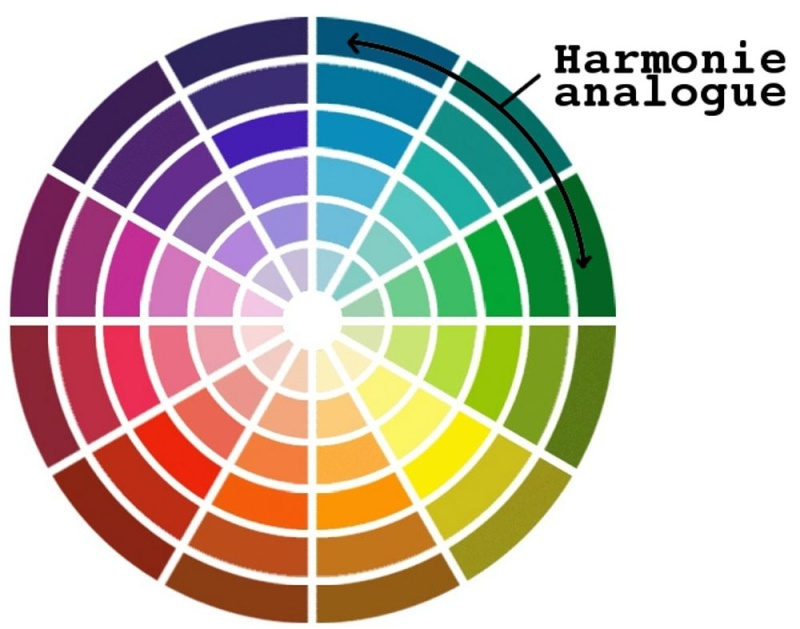 Peinture et association de couleur for Peinture murale harmonie des couleurs