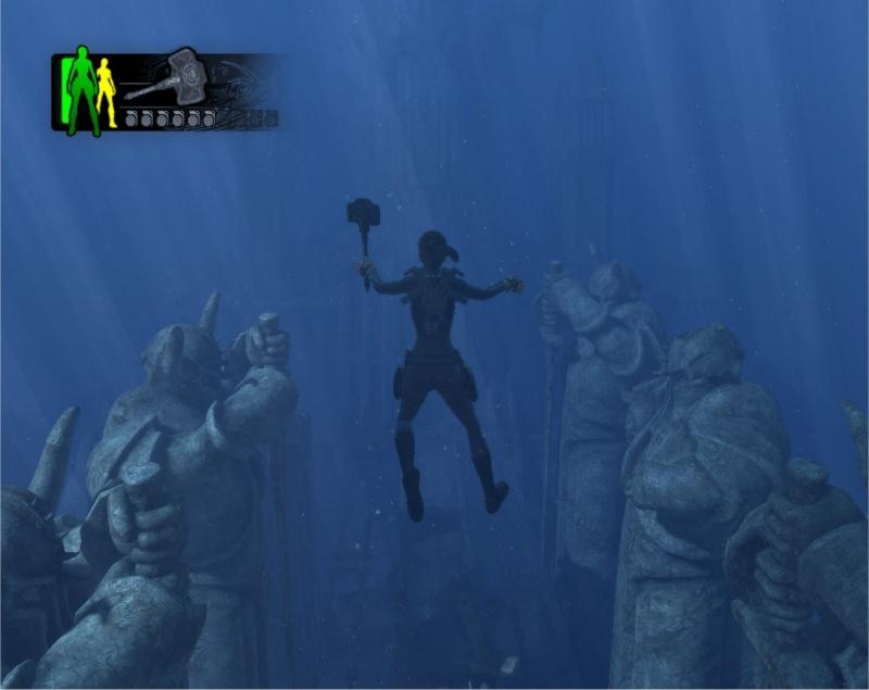 Encore sous l'eau mais cette fois si avec une arme !