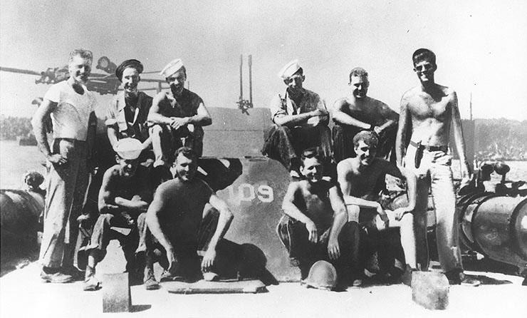 L'équipage du PT-109 (07.1940)