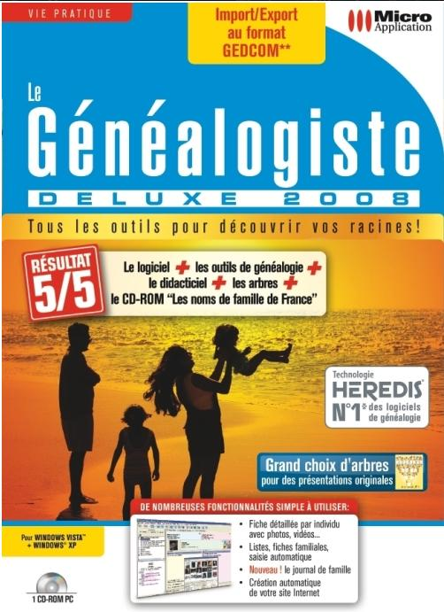 Le Genealogiste Deluxe 2008 FRENCH preview 0