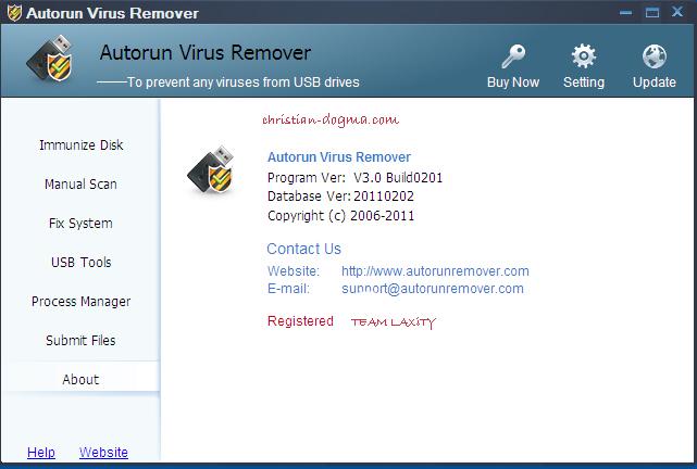 Autorun virus remover 3 0 build 0201