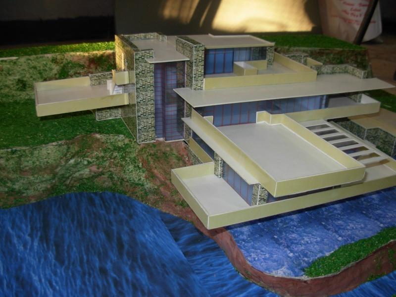 Les maisons des architectes fabriquees par les etudients for Maison cascade