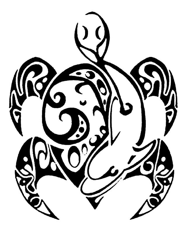 Gravure sur vos mods et autres - Signification tatouage tortue ...