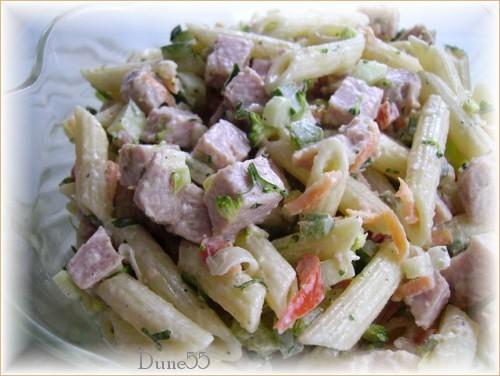 Salade de p tes au jambon 2 - Salade de pates jambon ...