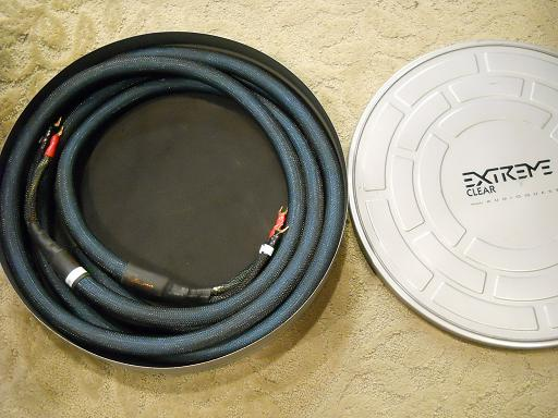 Audioquest Extreme Clear Speaker Cables Used Sold