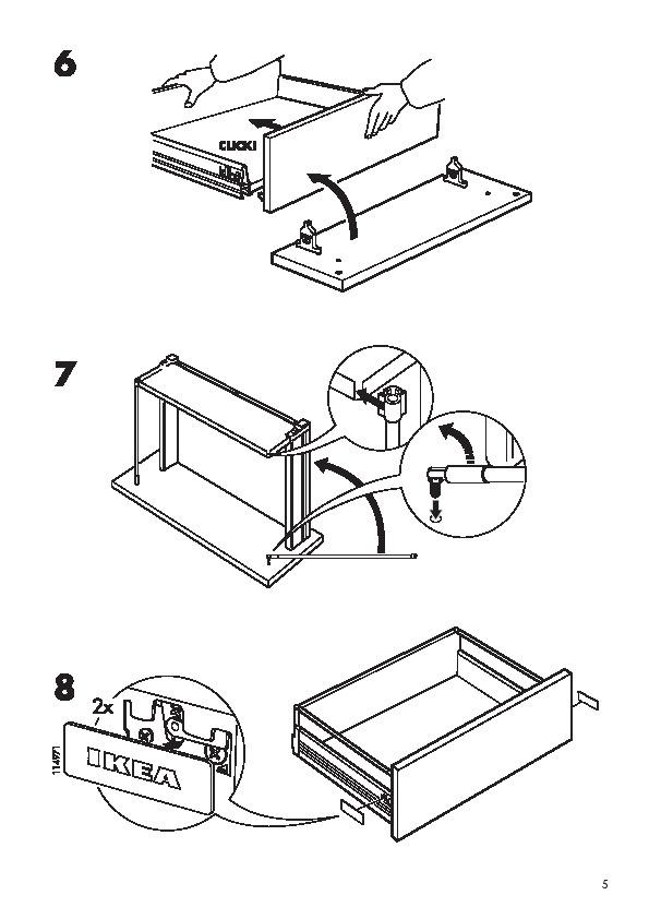D monter une porte fa ade de tiroir rationnell ikea for Tiroir de cuisine coulissant ikea