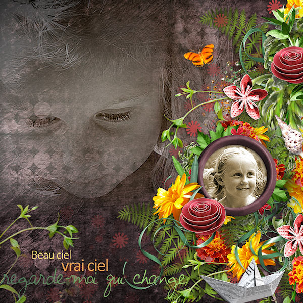 summertime kit simplette page audrey