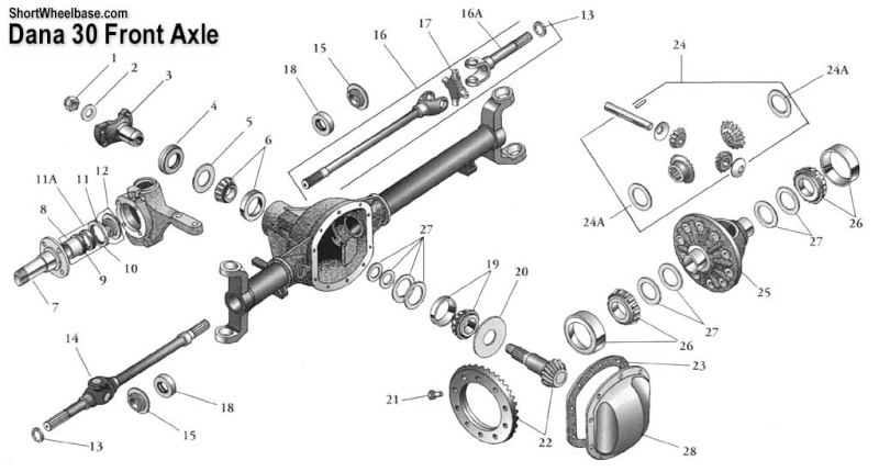 1984 jeep cj7 steering column diagram