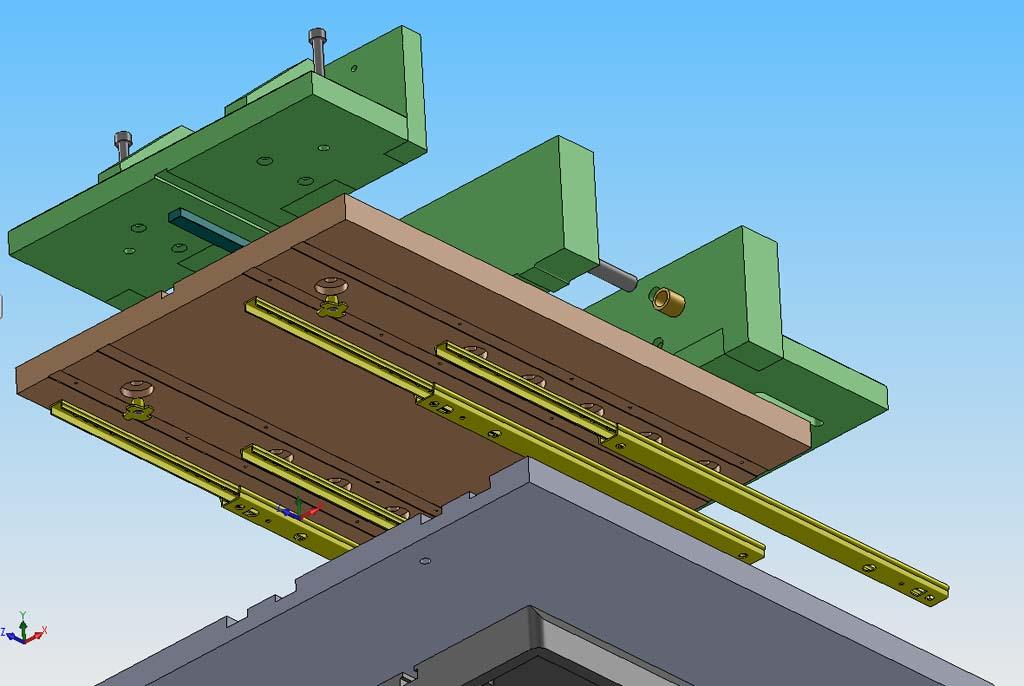 R alisation chariot de coupe pour scie ruban - Scie sur table fabrication maison ...