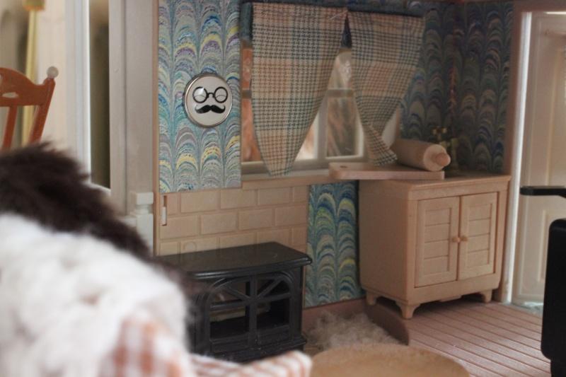 d coration int rieure des maisons sylvanians. Black Bedroom Furniture Sets. Home Design Ideas