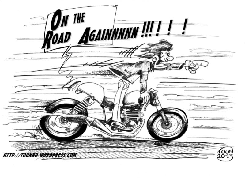24 08 anniversaires bigarold franck62 galway jack77 - Dessin motard humoristique ...