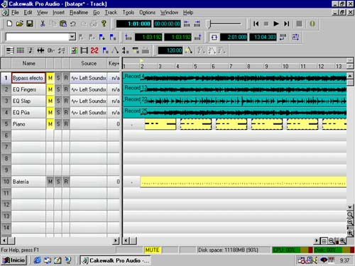 Cakewalk Pro Audio (free version) download for PC