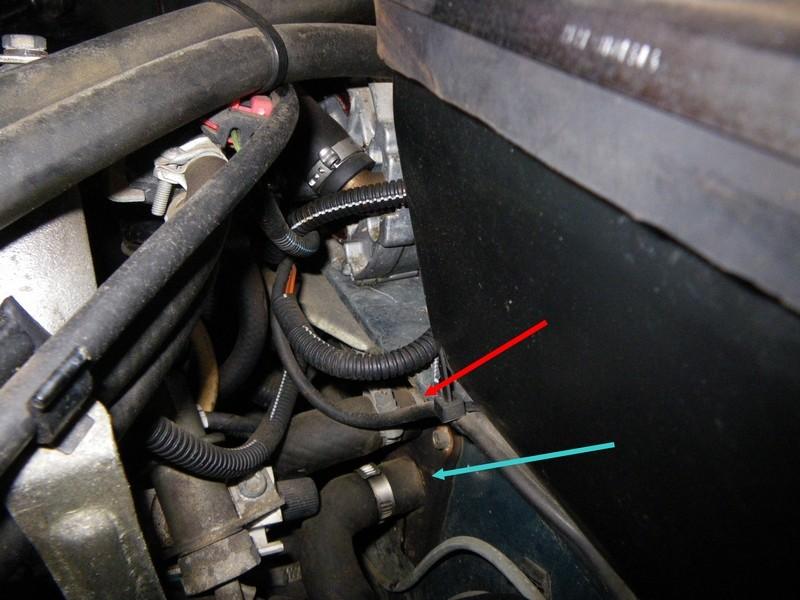 Durite du robinet de chauffage - Purger circuit chauffage ...