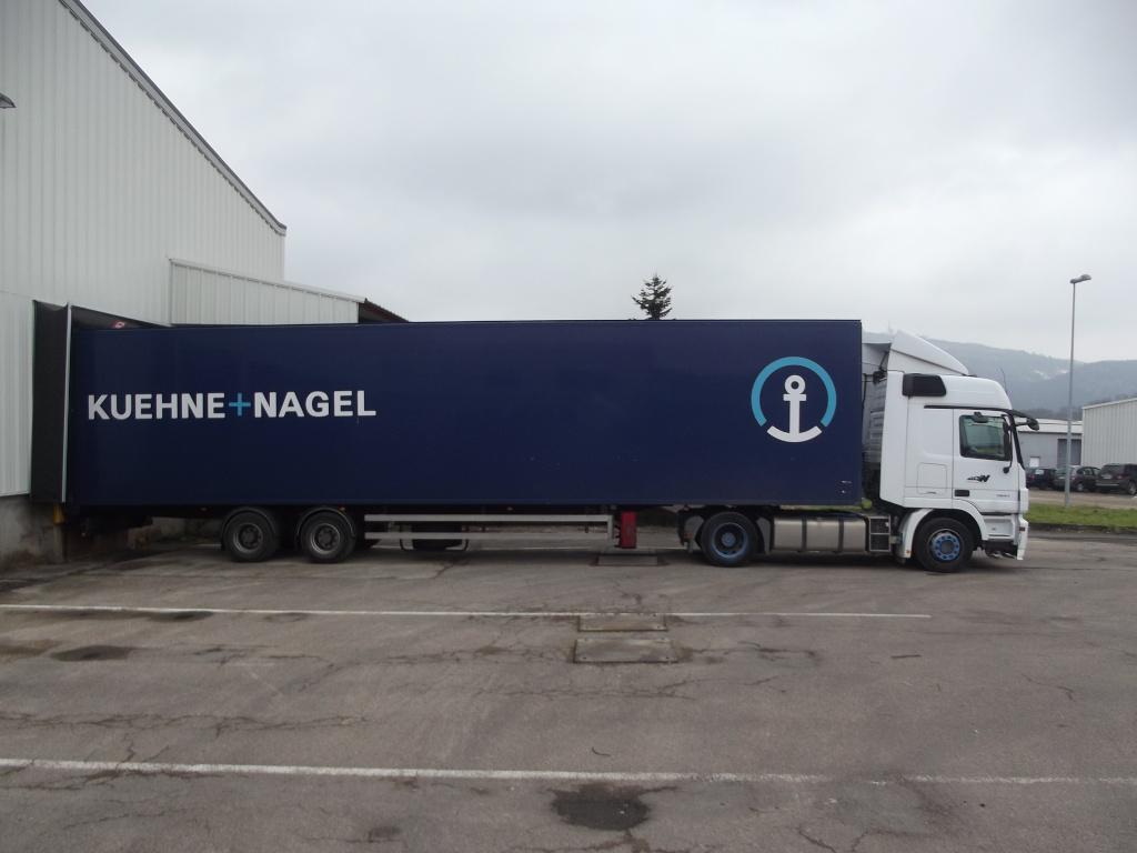 Alloin groupe kuehne nagel villefranche sur saone 69 for Piscine mobile sur camion