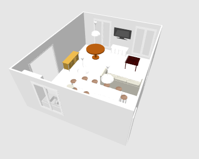 Agencement salon cuisine dans une maison page 2 for Agencement cuisine ile de re