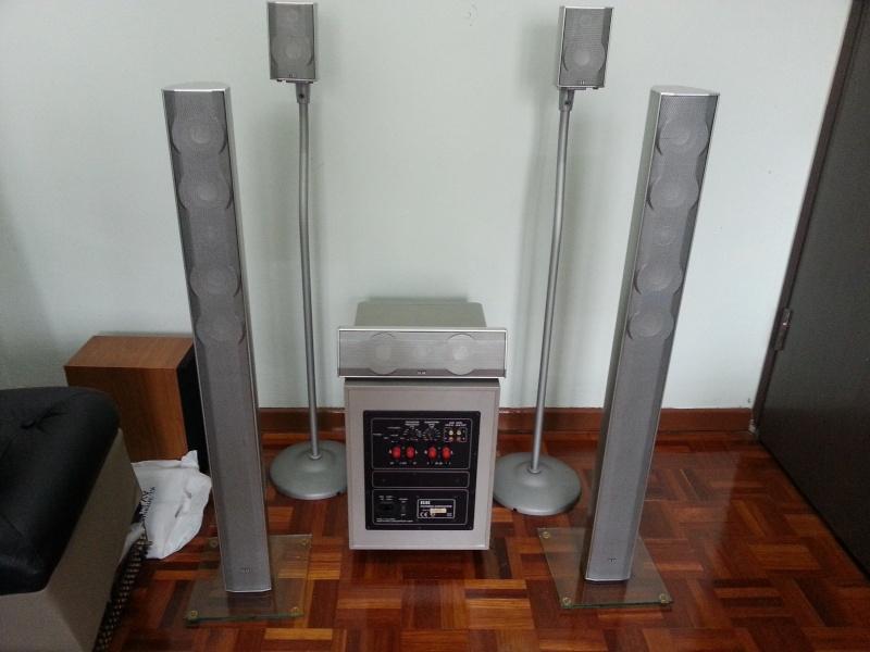 Elac cinema 5.1 full set speakers