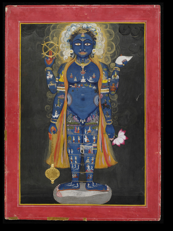 uomo cosmico Vishnu